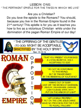 Page 2 - Epistle to the Romans in the Twenty-First Century